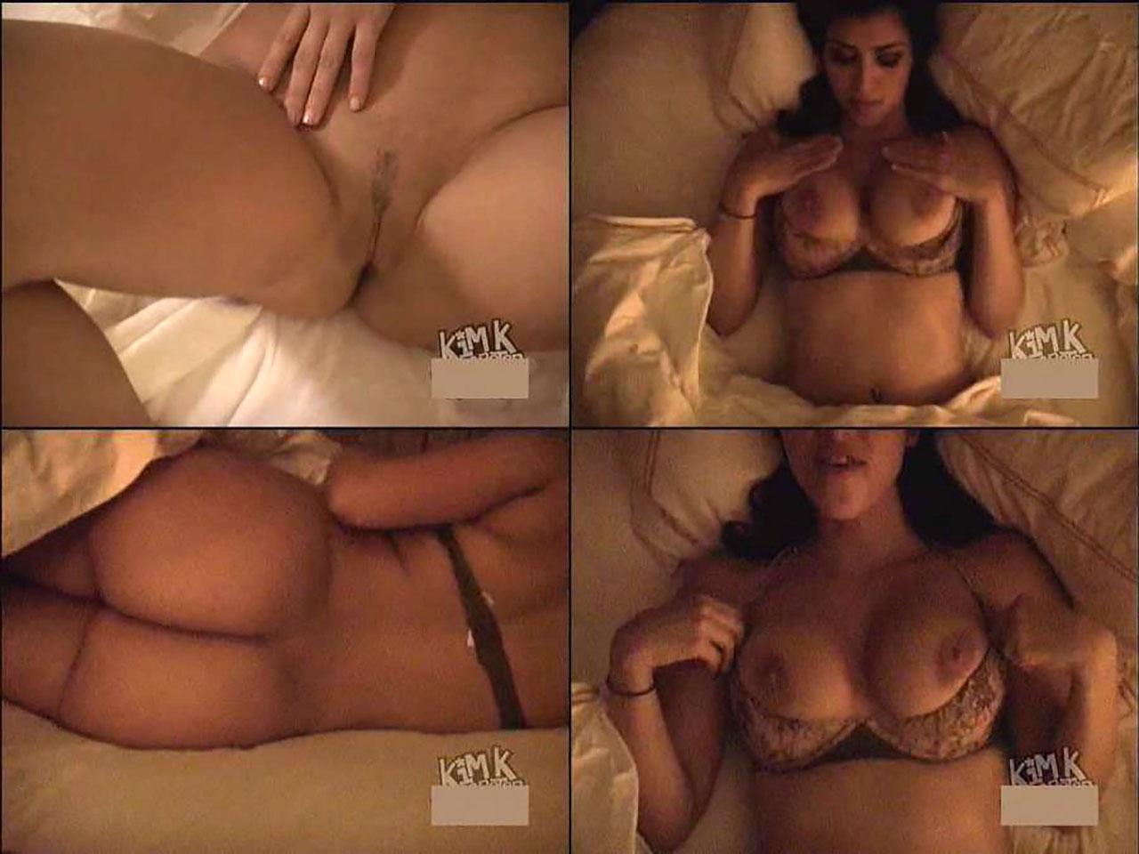 Ass naked kim kardashian Kim Kardashian